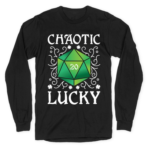 Chaotic Lucky Long Sleeve T-Shirt