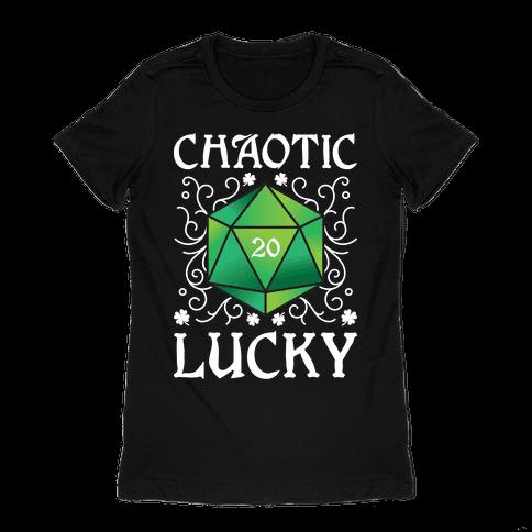 Chaotic Lucky Womens T-Shirt