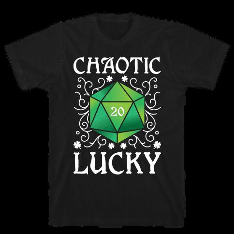 Chaotic Lucky Mens/Unisex T-Shirt