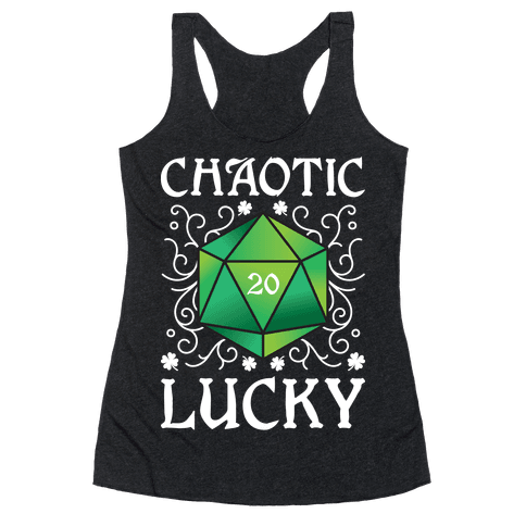 Chaotic Lucky Racerback Tank Top
