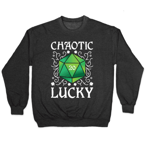 Chaotic Lucky Pullover