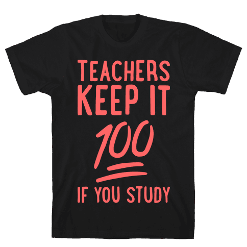Teachers Keep It 100 (Red)
