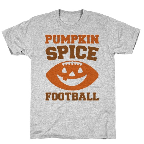 Pumpkin Spice Football  T-Shirt