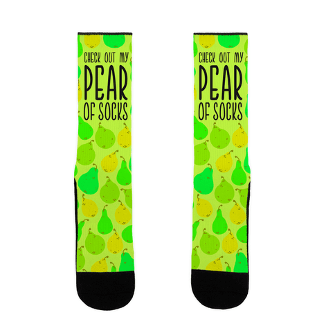 Pear Of Socks Sock