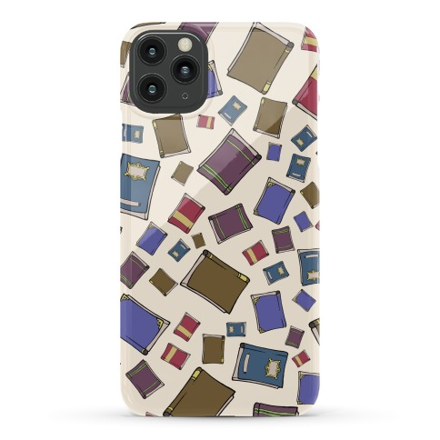 Book Collection Pattern Phone Case