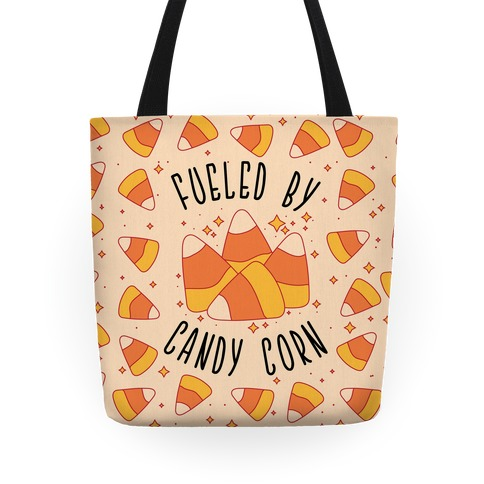 Fueled By Candy Corn Tote
