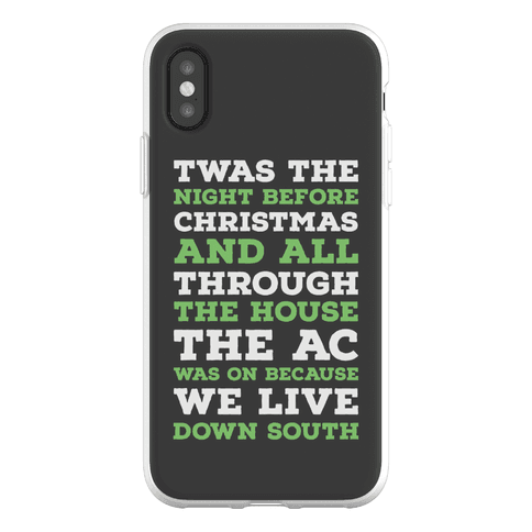 Twas The Night Before Christmas Phone Flexi-Case