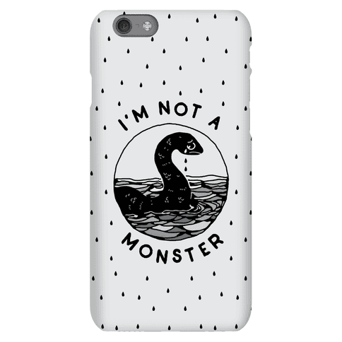 I'm Not a Monster (Nessy) Phone Case