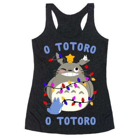 O Totoro, O Totoro Racerback Tank Top