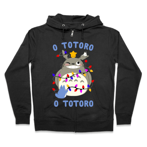 O Totoro, O Totoro Zip Hoodie