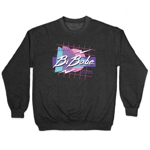 Bi Babe 80s Retro Pullover