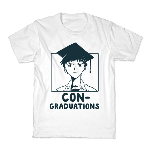 Con-Graduations, Shinji-kun  Kids T-Shirt