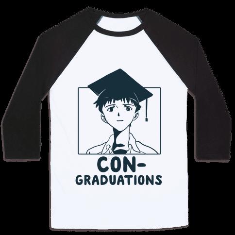 Con-Graduations, Shinji-kun  Baseball Tee