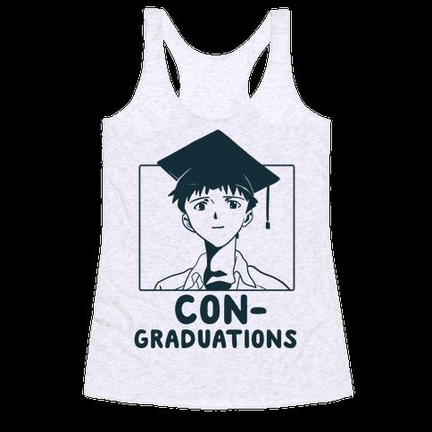 Con-Graduations, Shinji-kun  Racerback Tank Top