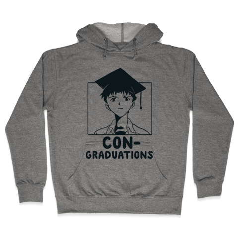 Con-Graduations, Shinji-kun  Hooded Sweatshirt