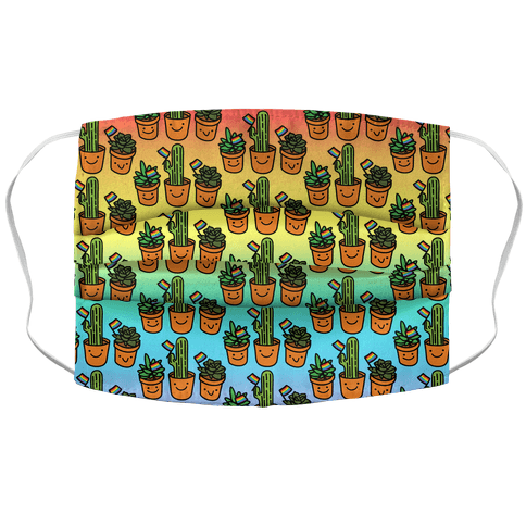 Plant Pride Face Mask Cover
