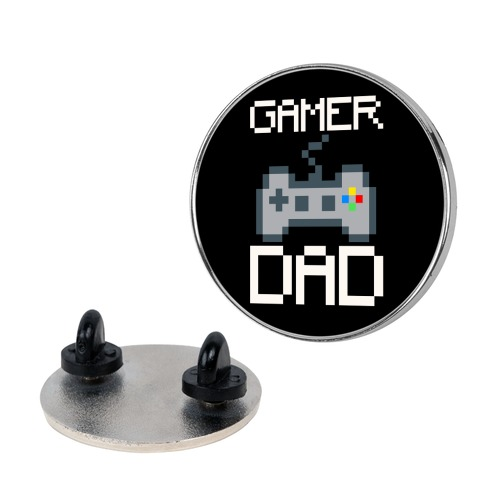 Gamer Dad  Pin