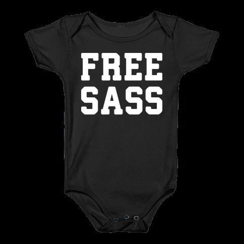 Free Sass Baby Onesy
