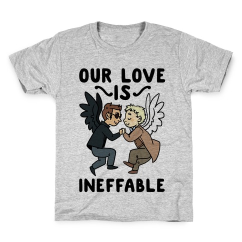 Our Love is Ineffable - Good Omens Kids T-Shirt