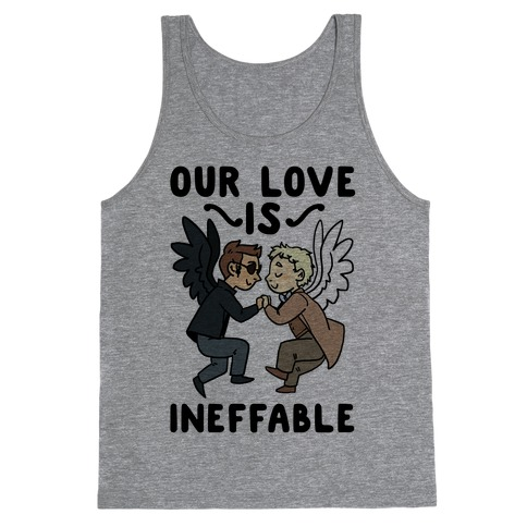 Our Love is Ineffable - Good Omens Tank Top