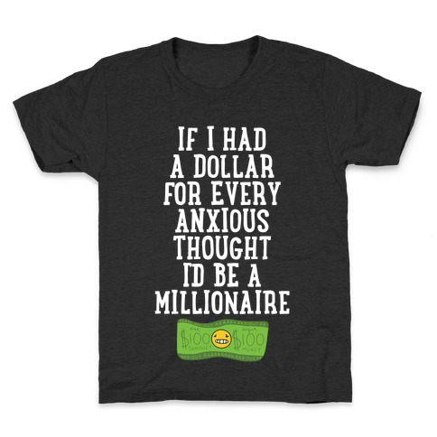 Anxious Millionaire Kids T-Shirt