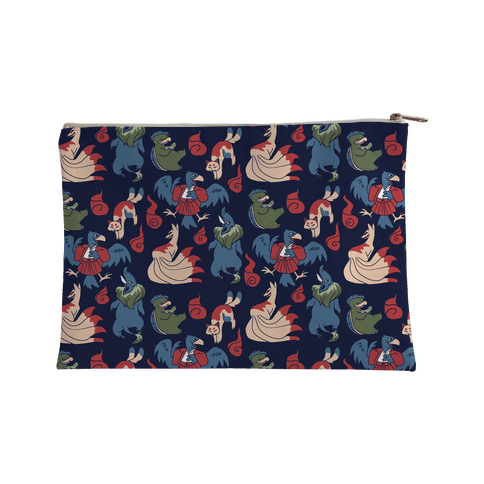 Yokai Guys Pattern  Accessory Bag