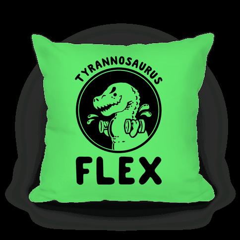 Tyrannosaurus Flex Pillow