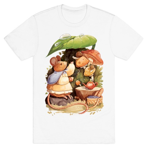 Mouse Tea Time T-Shirt