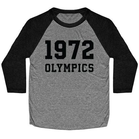 1972 Olympics Baseball Tee
