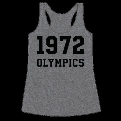 1972 Olympics Racerback Tank Top