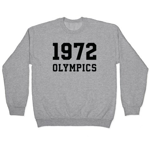 1972 Olympics Pullover
