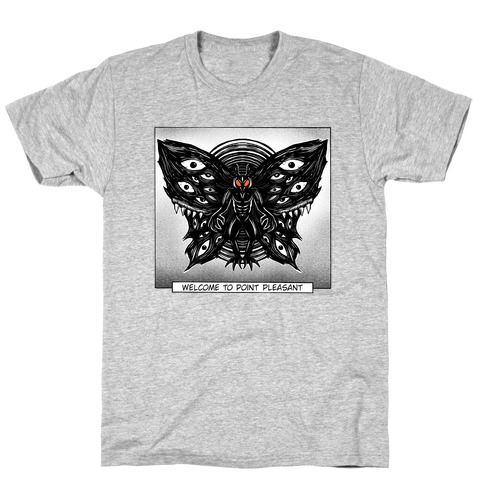 Welcome To Point Pleasant Mothman Manga T-Shirt