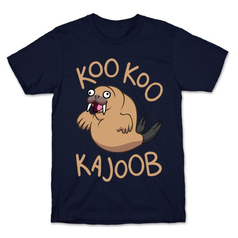 Koo Koo Kajoob Derpy Walrus T-Shirt
