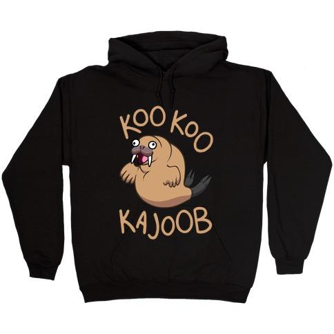 Koo Koo Kajoob Derpy Walrus Hooded Sweatshirt