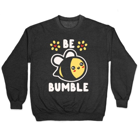 Be Bumble White Print Pullover