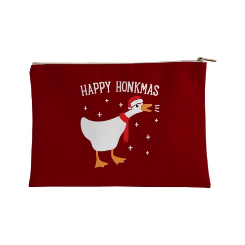Happy Honkmas Goose Accessory Bag