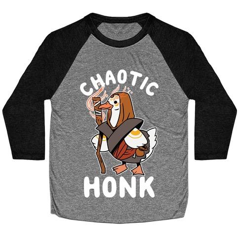 Chaotic Honk Baseball Tee