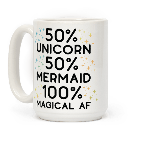 Image of 50% Unicorn 50% Mermaid