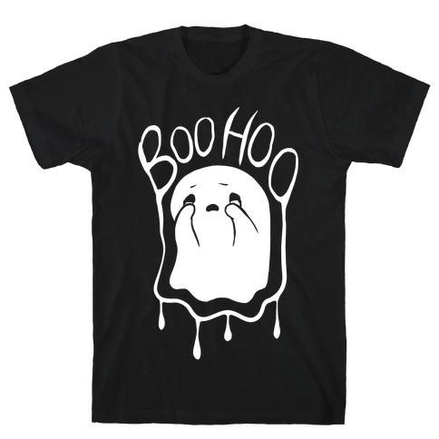 Boo Hoo Sad Ghost T-Shirt