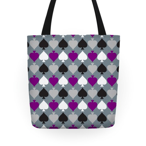Ace Pride Pattern  Tote