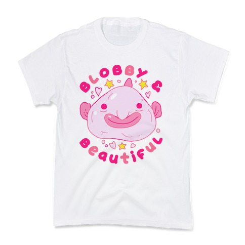 Blobby & Beautiful Kids T-Shirt