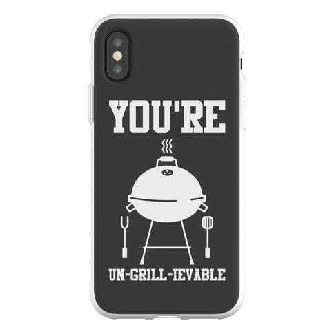 You're Un-grill-ievable Phone Flexi-Case