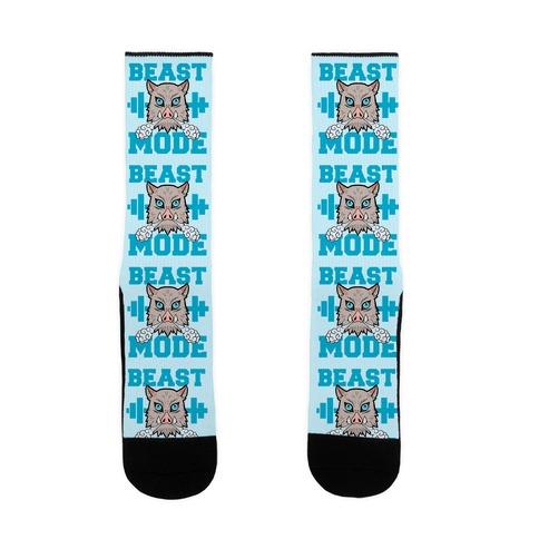 Beast Mode Inosuke Sock