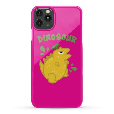 Dinosour (Lemon) Phone Case