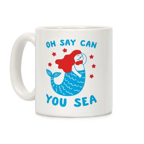 Oh Say Can You Sea Coffee Mug