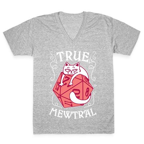 True Mewtral V-Neck Tee Shirt