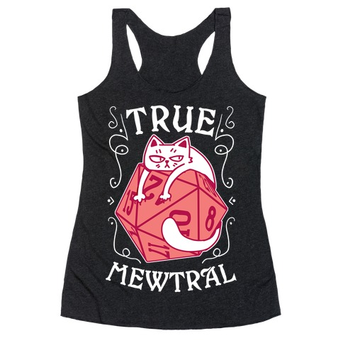 True Mewtral Racerback Tank Top