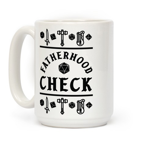 Fatherhood Check Coffee Mug