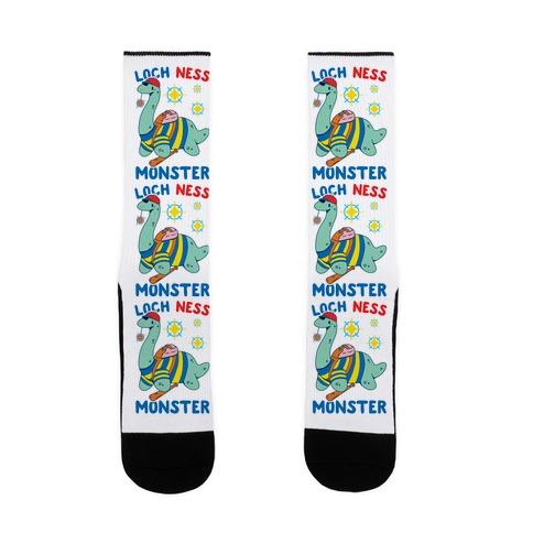 Loch NESS Monster Sock