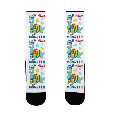 Loch NESS Monster Sock